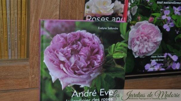 Livre «Adré Eve, jardinier des roses»