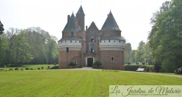 Visite de jardin: Parc et Roseraie du Château de Rambures