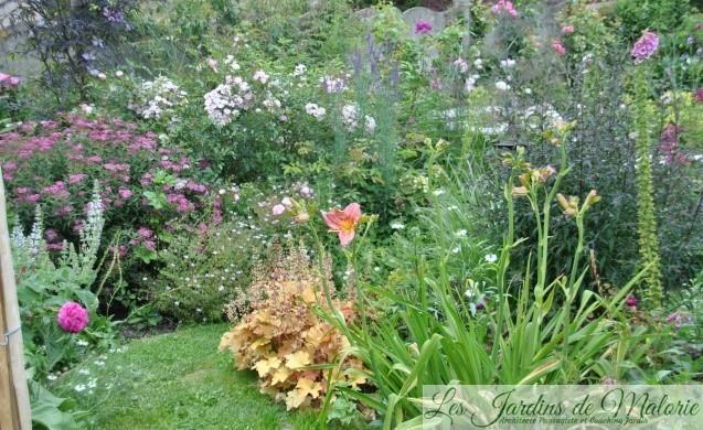 Chroniques de mon jardin : Le massif de Gédéon - Les Jardins de Malorie