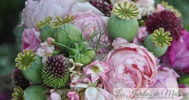💐 Bouquet de fleurs du jardin