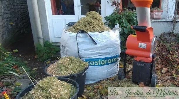 Quel broyeur de végétaux acheter?