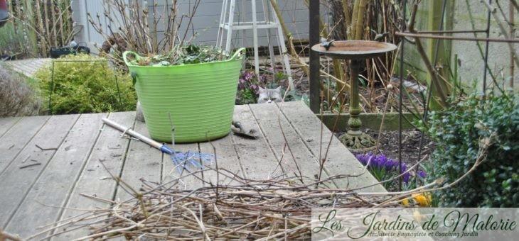 Nettoyage de printemps…