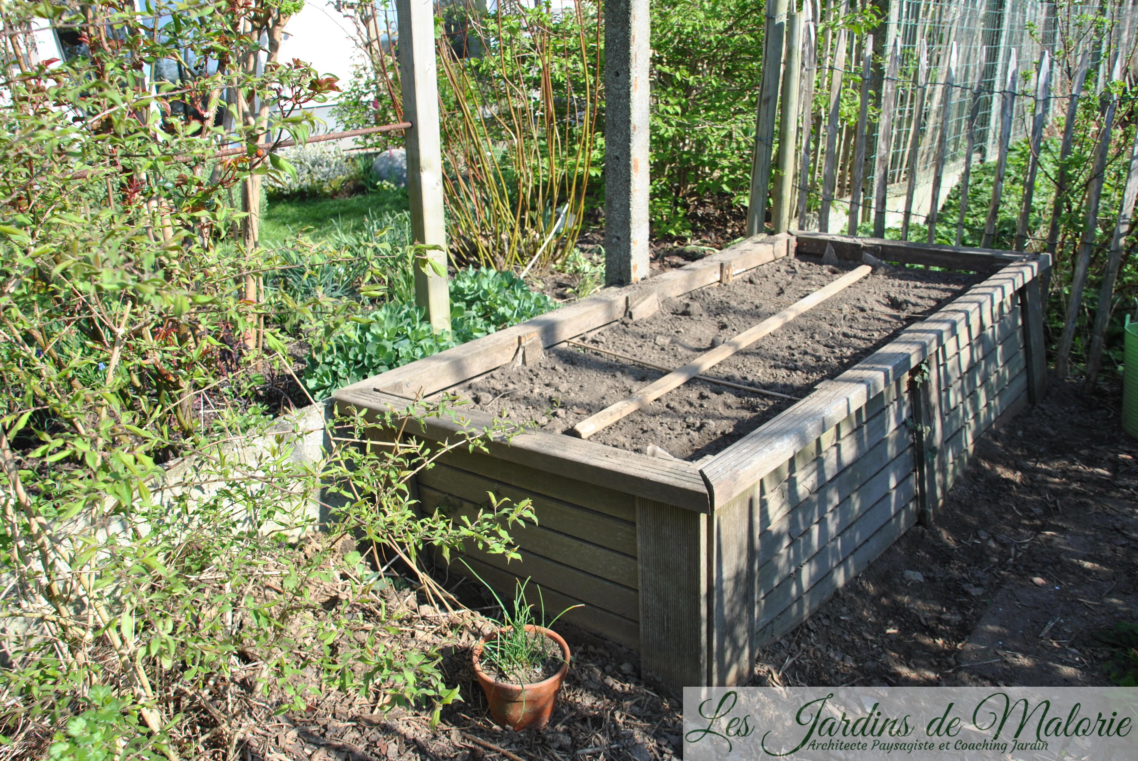 Le Jardin Potager En Janvier potager - les jardins de malorie