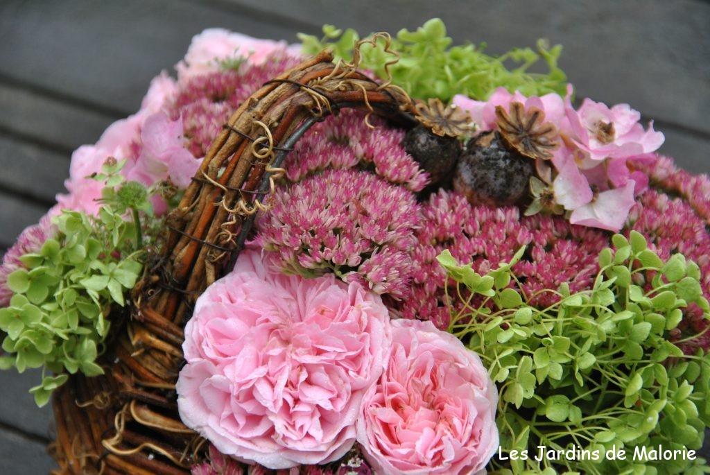 bouquets de fleurs du jardin