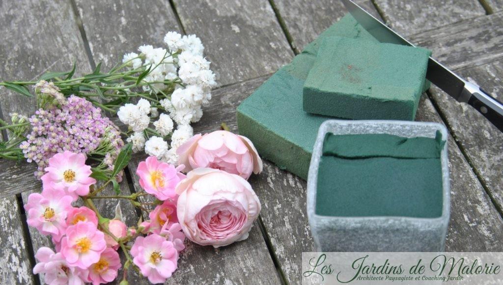 Bouquet de roses du jardin - Les Jardins de Malorie