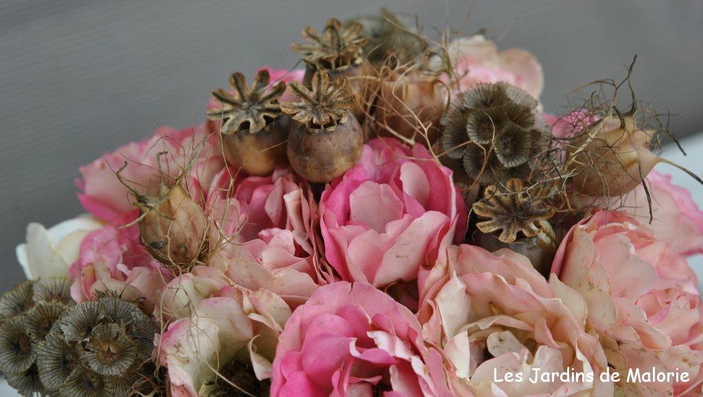 bouquet de roses 'Acropolis'