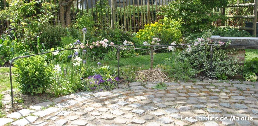 support pour pommiers en cordon les jardins de malorie. Black Bedroom Furniture Sets. Home Design Ideas