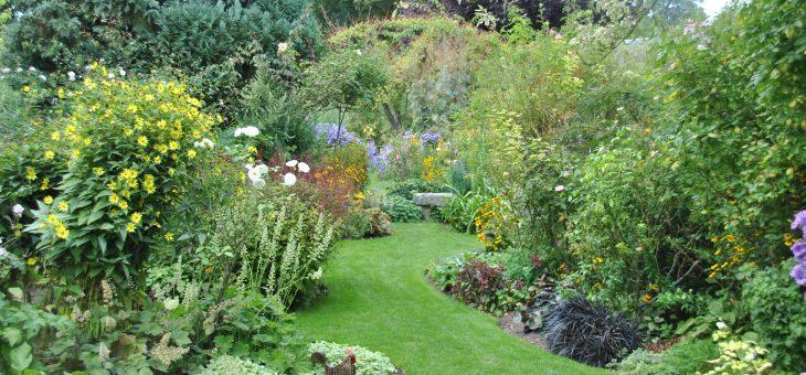Visite de jardin: Le jardin d'André Eve en septembre