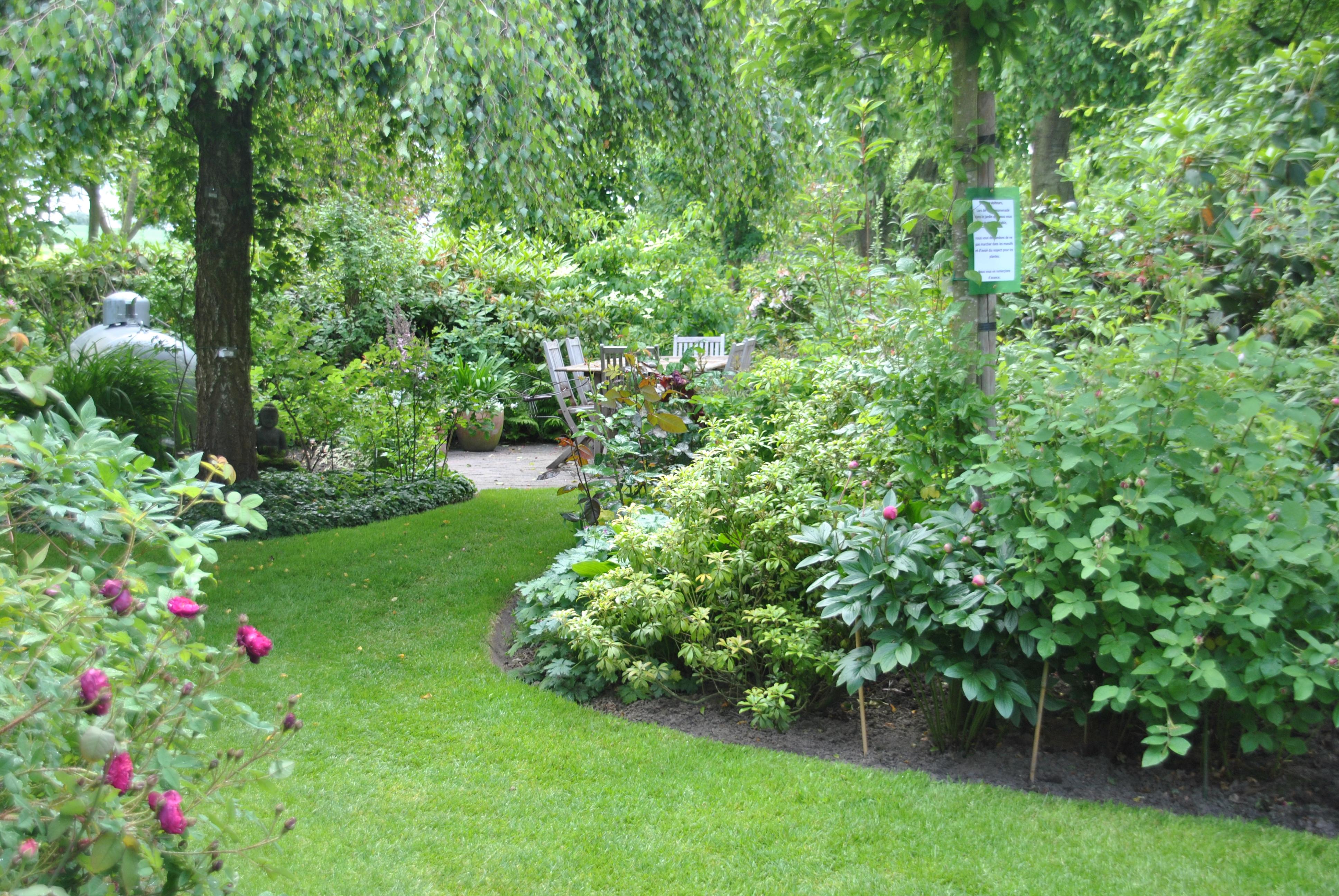 Visite de jardin les aiguillons les jardins de malorie for Jardin a visiter