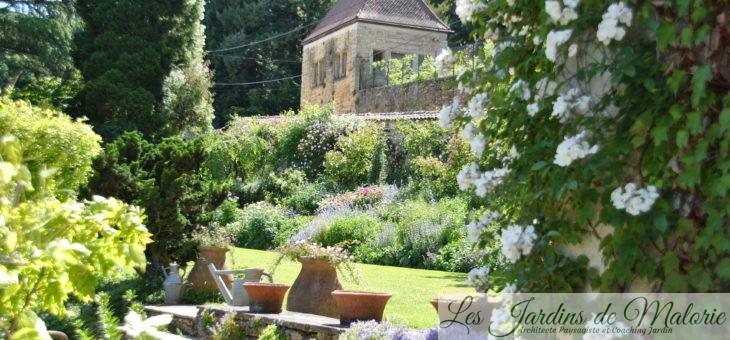 «La Bonne Maison», le remarquable jardin de roses d'Odile Masquelier