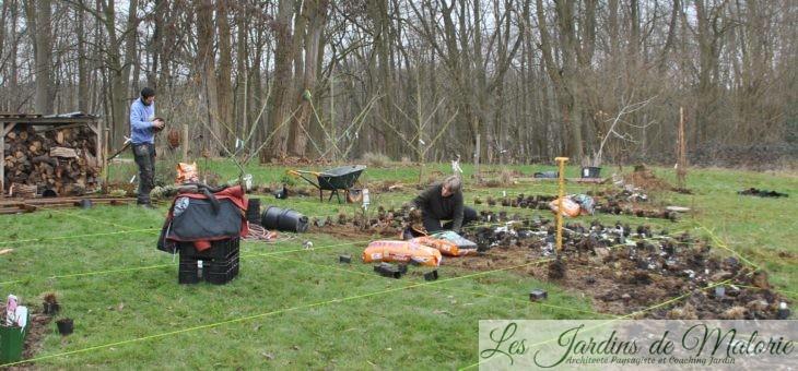 Conception de jardin: chez Sophie et Julien
