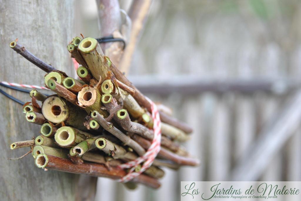 nichoir pour les abeilles solitaires