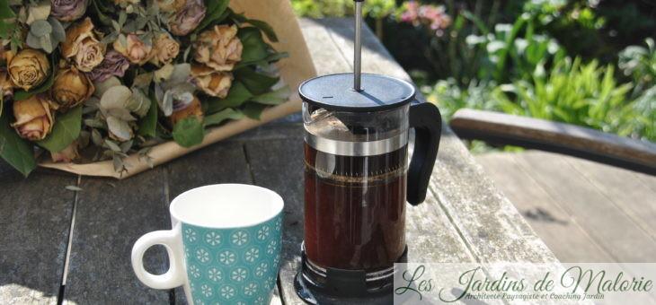 Utiliser le marc de café au jardin