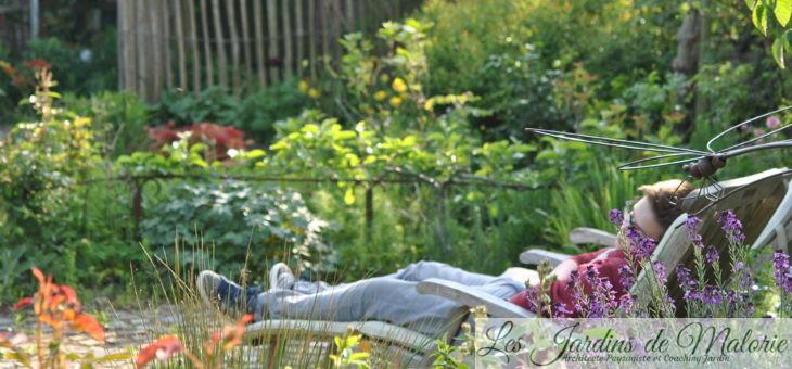 Jardinier «contemplatif» : Réduire l'entretien de son jardin