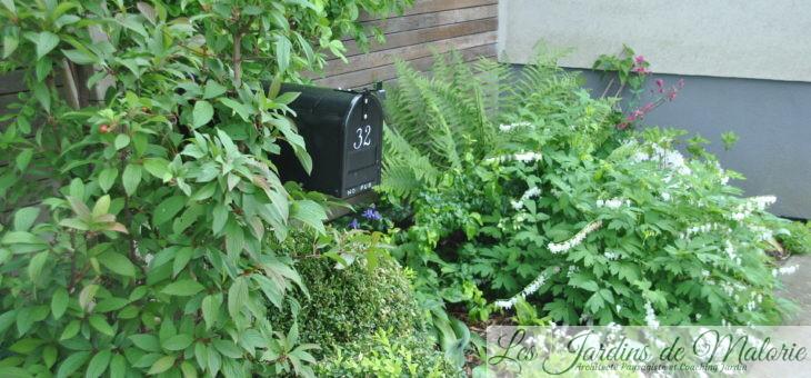Déco du jardin: la boîte aux lettres