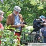 """  Tournage pour """"Jardins et Loisirs"""""""