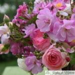 Un bouquet de roses du jardin...