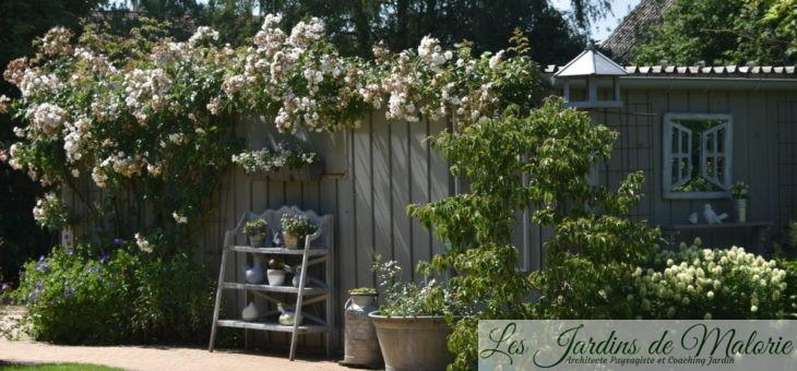 Décorer un abri de jardin